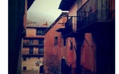 #Comenzamos #VisitaGuiada en #Albarracín #AlbarracínEspecial #CasaMuseo y #Teruel …la #lluvia no nos frenará