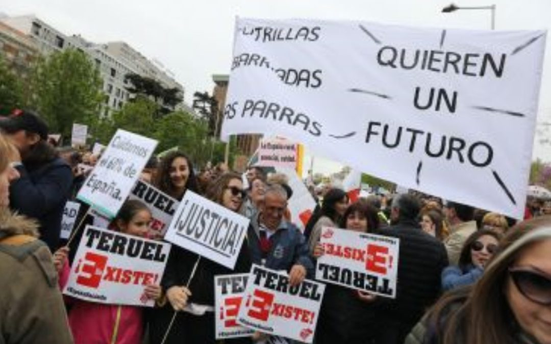 NOTICIA Diario de Teruel: El movimiento de la Revuelta de la España Vaciada cala entre la prensa internacional