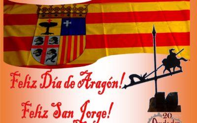 Feliz Día de Aragón! Feliz San Jorge!!