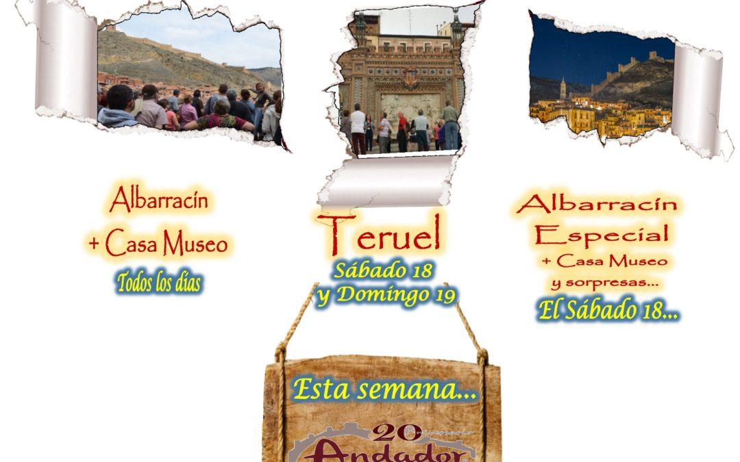 Este fin de semana… Albarracín y Teruel guiados…y el Sábado por la tarde, Albarracín Especial!