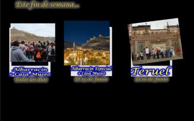 Este fin de semana…Albarracín, todos los días! — Teruel, el 16 de Junio — y el Sábado por la tarde…Albarracín Especial con sorpresas…te esperamos!