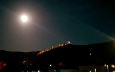 #NochesDeLunaLLena en #Albarracín… #MomentosDeFotos