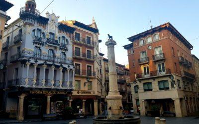 Lugares y momentos durante la #VisitaGuiada en #Teruel