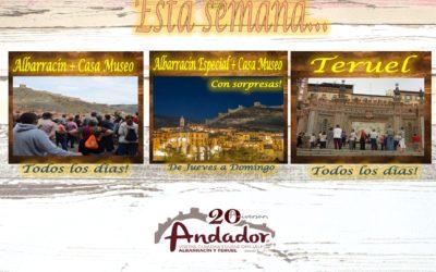 Esta semana…Albarracín, Teruel…y de Jueves a Domingo…Albarracín Especial Nocturno!