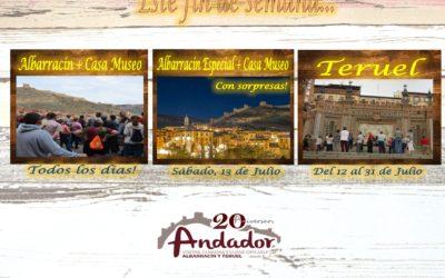 Este fin de semana…Albarracín, Teruel y Albarracín Nocturno el Sábado por la noche!!