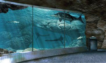 Noticia de Diario de Teruel: El 'acuario' del Jurásico que albergará Dinópolis empezará a construirse a finales de 2020