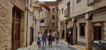 Noticia Diario de Teruel: Los alojamientos turolenses rozan el lleno durante el puente del 15 de agosto