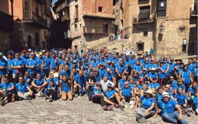 Noticia Eco de Teruel: La XXIV Marcha Bronchales-Albarracín reunió a más de 200 senderistas de todas las edades