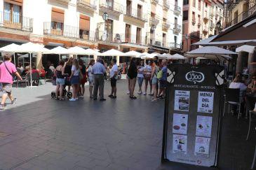 Noticia Diario de Teruel: La ocupación de agosto, impredecible por el movimiento de reservas de última hora