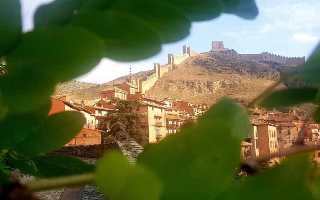 Sitios donde desconectar…#VisitaGuiada en #Albarracín…#SienteLaExperiencia de #20AñosContigo