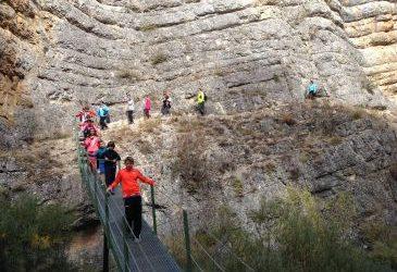 Noticia Diario de Teruel: Más de 16.000 visitas llegaron en agosto al Cañón de Calomarde