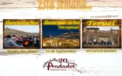 Esta semana…Albarracín, Teruel, Albarracín Nocturno…consulte días y disponibilidad!