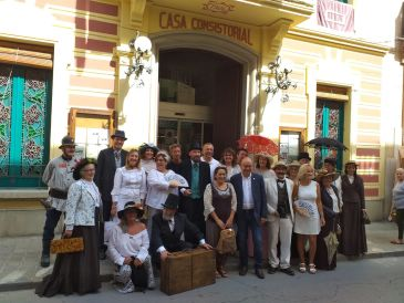 Noticia Diario de Teruel: Segundo de Chomón se codea con los modernistas catalanes en Canet de Mar