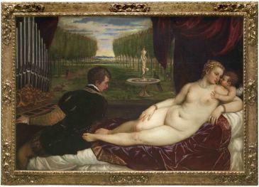 Noticia Diario de Teruel: El Museo de Teruel exhibirá un cuadro de Tiziano a partir del 30 de octubre por la celebración del bicentenario del Prado