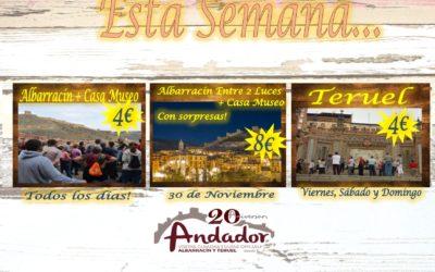 Esta semana…planes para Albarracín y Teruel!