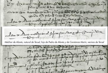 Noticia Diario de Teruel: Melchor de Alavés, el turolense olvidado que conquistó México con Hernán Cortés en el siglo XVI