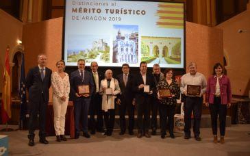 Noticia Diario de Teruel: El Gobierno de Aragón entrega la Medalla al Mérito Turístico a título póstumo al turolense Miguel Gargallo