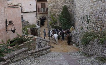 Noticia Diario de Teruel: Amazon Prime Vídeo comienza a rodar 'El Cid' en Albarracín