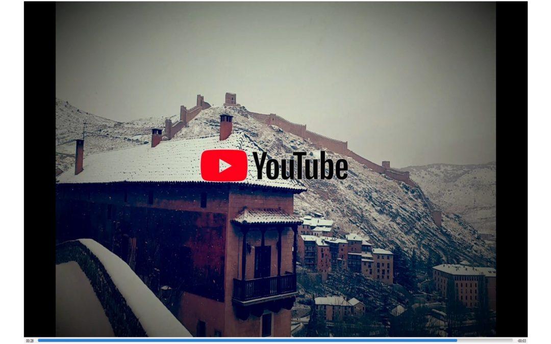 #PrimeraNevada del #Año2020 en #Albarracín…siente con ANDADOR Visitas Guiadas