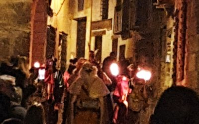 Sus #Majestades #LosReyesMagos hacen su entrada en #Albarracín…