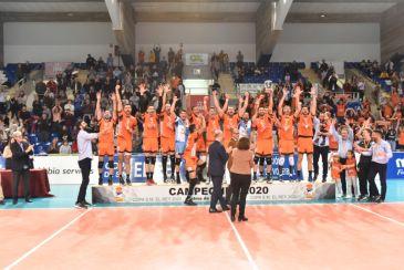 Noticia Diario de Teruel: El sexto título de Copa del Rey del CV Teruel agranda la leyenda de un equipo que nunca se rinde