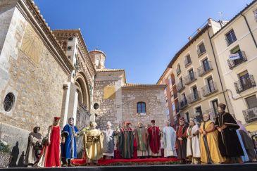 Noticia Diario de Teruel: Teruel vive este sábado uno de los momentos más emocionantes de Las Bodas con la llegada y muerte de Diego de Marcilla