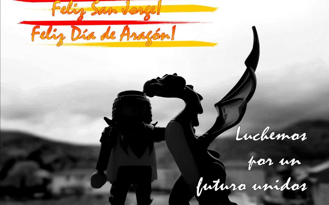Feliz Día de San Jorge, feliz Día de Aragón!