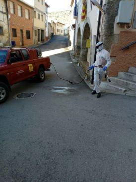 Noticia Diario de Teruel: Personal de Sarga trabajará en labores de desinfección en la Sierra de Albarracín