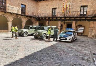 Noticia Diario de Teruel: Guardia Civil y alcaldes se alían para blindar los pueblos de veraneantes esta Semana Santa