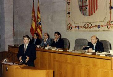 Noticia Diario de Teruel: Teruel y Aragón despiden a Santiago Lanzuela reconociendo su aportación al desarrollo del territorio