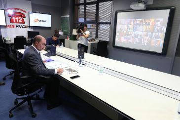 Noticia Diario de Teruel: Lambán pide un rescate nacional para el sector turístico y de la hostelería por la crisis de la Covid-19
