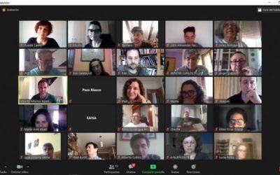 Noticia TeruelTv: El Pacto por la reconstrucción de Teruel reúne a 80 representantes de la sociedad civil
