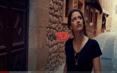 Noticia Diario de Teruel: La brasileña Manu Saggioro publica un videoclip rodado en Albarracín