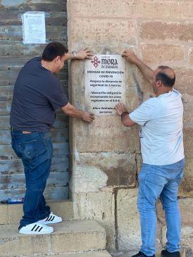 Noticia Diario de Teruel: El Castillo de Mora de Rubielos abre este domingo con aforo limitado a 200 personas
