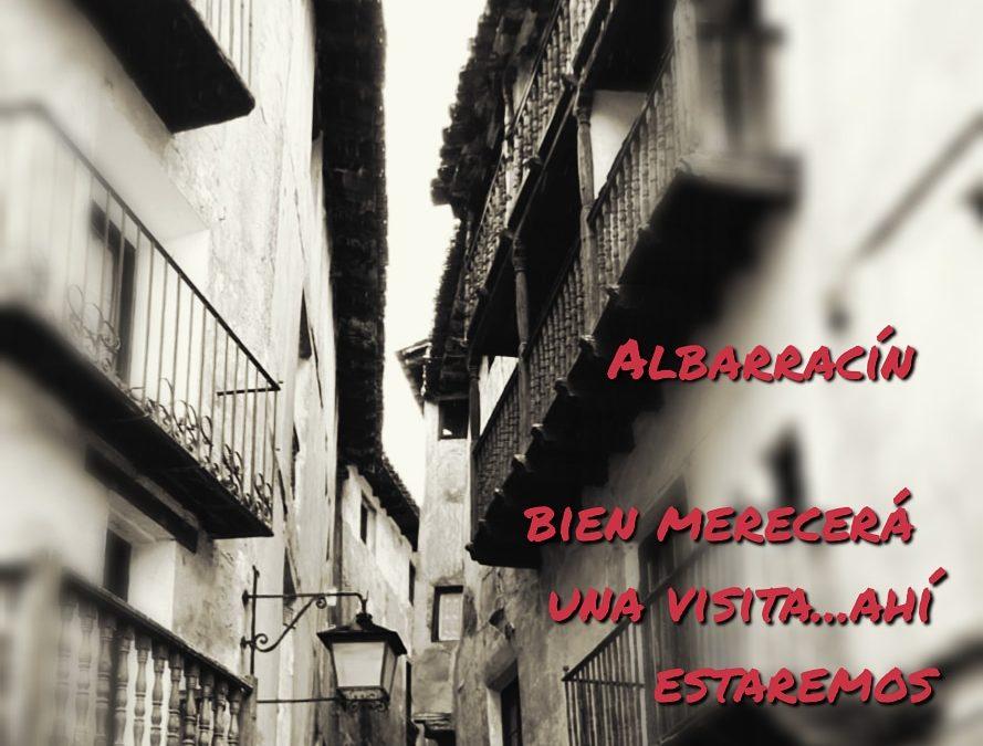 #Albarracín bien merecerá una #visita… #aquíestaremos para #guiarte con #turismoseguro #sinaglomeraciones #algodiferente #concrisiscrecemosinteriormente #poryparati #gracias #ahoratoca #tomarconciencia #cuidatecuidanos