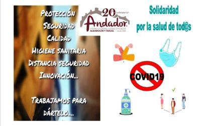#EntreTod@s lo #paramos: #SolidaridadPorLaSalud desde ANDADOR Visitas Guiadas #PondremosLosMedios para #VisitaGuiadaSegura #PoryParaTi