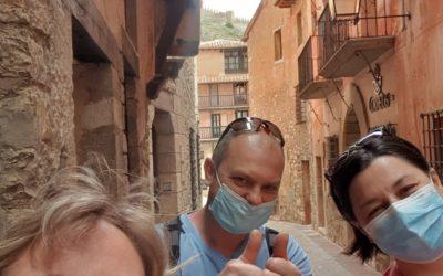 #GraciasPorLaConfianzaDepositada! #DeVisitaGuiada en #Albarracín con Anca y Emanuel