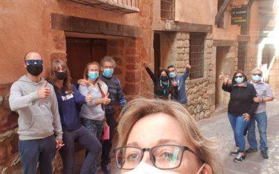 #VisitaGuiada en #Albarracín del Sábado con nuestros nuevos amig@s: GRACIAS POR SU CONFIANZA!!!