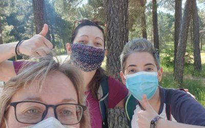 #UnaVisitaGuiadaDiferente! En los #PinaresDelRodeno y #ArteRupestre #PatrimonioDeLaHumanidad con Marta y Carol! #DosNuevasAmigas de Andador Visitas Guiadas! Como siempre…MILLÓN DE GRACIAS!!!!