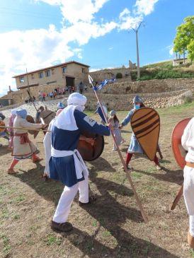 Noticia Diario de Teruel: Cutanda celebra en la 'intimidad' y con mascarillas el aniversario de su batalla