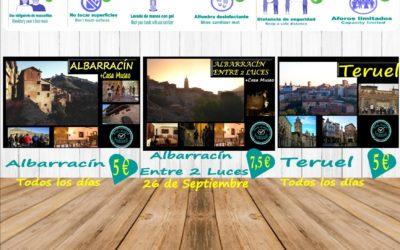 Esta semana…planes para ti en Albarracín y Teruel de visitas guiadas!