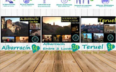 Este Puente del Pilar…te esperamos en Albarracín y Teruel con los protocolos AntiCovid19…aforos más reducidos! Os esperamos!