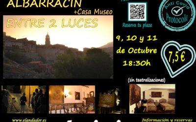 Del 9 al 11 de Octubre…Albarracín Entre 2 Luces! Aforos más reducidos!