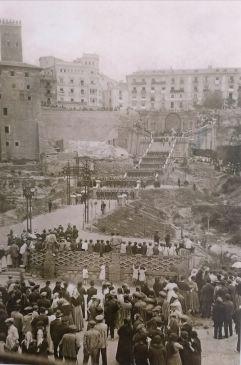 Noticia Diario de Teruel: La Escalinata de la ciudad de Teruel, un ejemplo de arquitectura que cumple cien años