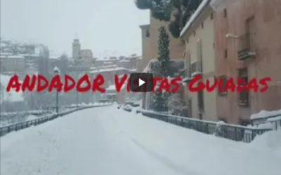 #MomentosÚnicos vividos en Albarracín con #GranNevada2021