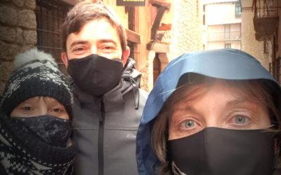 #PrimeraVisitaGuiada del #2021 en #Albarracín con una encantadora pareja: Gema y Jorge, GRACIAS!