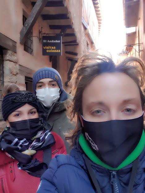 Segunda #VisitaGuiada del #2021 en #Albarracín con Carlota y Alejandro…GRACIAS!!!