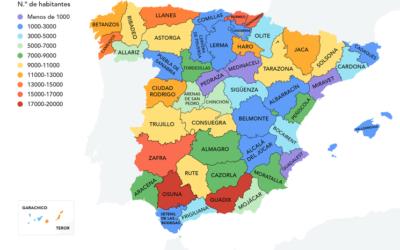 Traveler.es: El mapa del pueblo más popular de cada provincia de España
