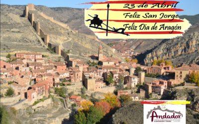 Feliz 23 de Abril, Feliz San Jorge, Feliz Día de Aragón!
