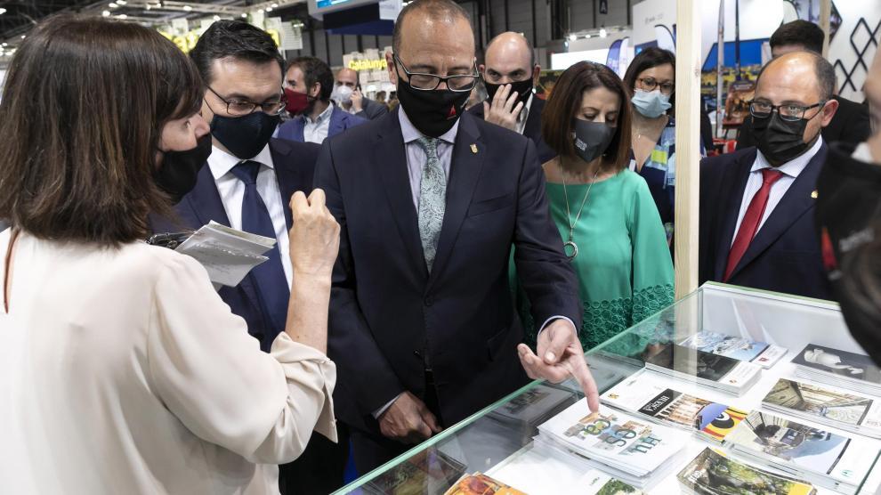 Heraldo de Aragón: Aragón celebra su día en Fitur con el objetivo de la DGA de recuperar las cifras récord de turismo de 2019